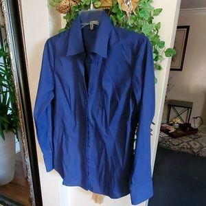 Blue women blouse
